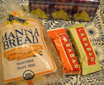 bars and manna bread