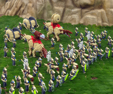 Gungan Grand Army Star Wars Miniland