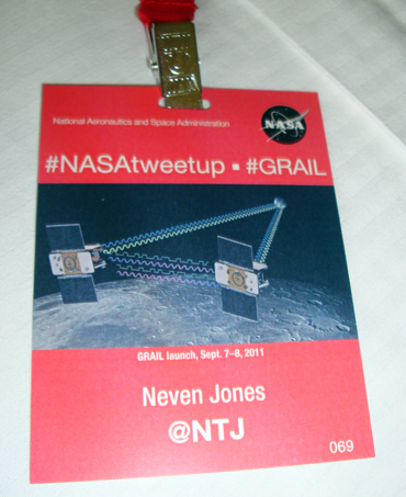NASATweetup badge