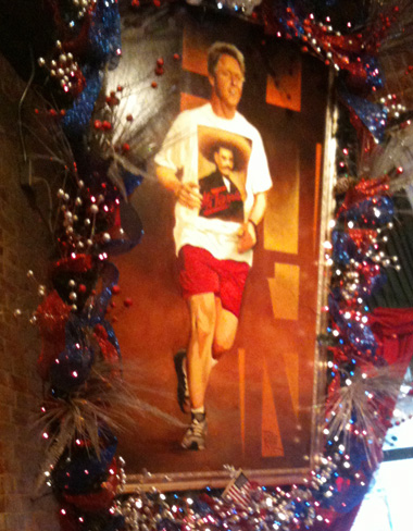 Bill Clinton at Mi Tierra