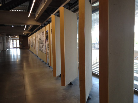 More display walls- UNM School of Architecture