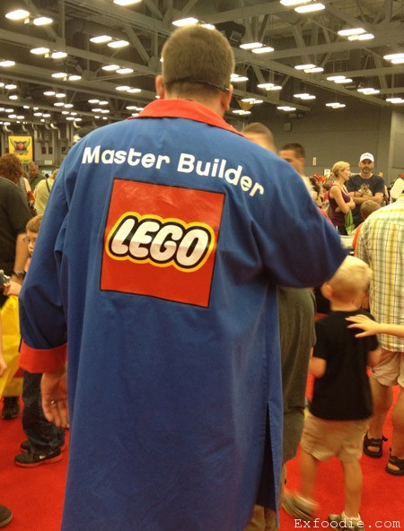 Master Builder at LEGO KidsFest