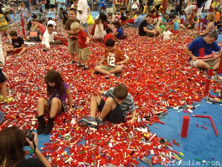 LEGO bricks at the LEGO Kid's Fest