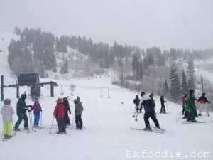 Skiing and living | Exfoodie.com